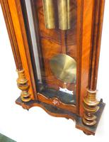 Gustav Becker Antique Walnut & Ebonised 8-day Twin Weight Striking Vienna Regulator Wall Clock (10 of 14)