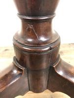 19th Century Mahogany Tilt Top Tripod Table (5 of 9)