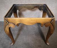 Queen Anne Style Walnut Stool c.1920 (10 of 10)