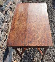 Pretty Little Georgian Oak Side Table (4 of 7)