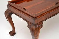 Mahogany Chippendale Style Tray Top Coffee Table (7 of 12)