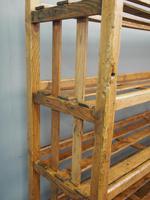 Victorian Industrial Pine Deed Rack / Wool Rack (4 of 10)