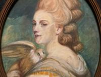 Mrs Mary Desbitt with Dove, After Sir Joshua Reynolds - Portrait Watercolour (2 of 9)