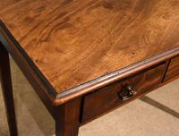 George III Mahogany Side / Dressing Table (3 of 9)