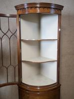 Mahogany Bow Front Corner Cabinet In The Georgian Style (6 of 9)