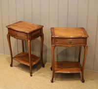 Pair of French Cherrywood Tables (6 of 11)