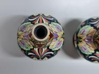 Stunning Pair of Royal Bonn Art Nouveau Vases 'Old Dutch' c.1910 (3 of 14)