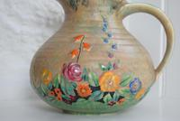 Art Deco Crown Devon Floral Jug (4 of 10)