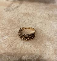 9ct. Rose Gold Keepers Ring 1975 (3 of 5)