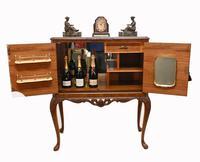Epstein Cocktail Cabinet Walnut Drinks Deco c.1930 (3 of 12)