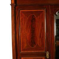 Edwardian Three Door Wardrobe (5 of 8)