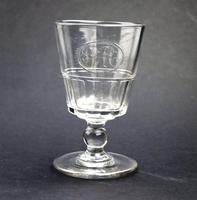 Good Regency Bucket Bowl Monogrammed Cut Glass Rummer c.1820 (3 of 6)