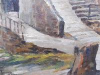 Oil on Canvas Cornish Seascape Listed Artist Dora Johns 1966 (9 of 10)