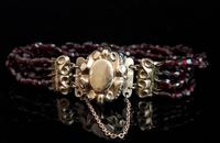 Victorian Bohemian Garnet Bead Bracelet (9 of 11)