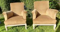 Large Pair of Upholstered Armchairs (3 of 6)
