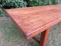Antique French Elm & Ash Farmhouse Dining Table (5 of 9)