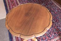 Mahogany Wine / Lamp Table (4 of 5)