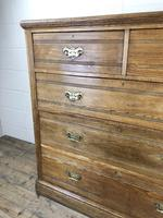 Large Antique Ash Chest of Drawers (9 of 10)