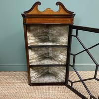 Victorian Mahogany Antique Glazed Corner Display Cabinet (2 of 6)
