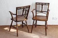 Pair of Ash & Fruitwood Mendlesham Chair (7 of 7)