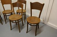 Harlequin Set of 8 French Bistro or Cafe Bentwood Chairs (6 of 7)