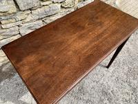 Antique Georgian Mahogany Fold Over Tea Table (11 of 27)