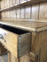 Large Victorian Antique Pine Dresser (15 of 17)