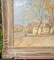 Carved Framed Oil on Canvas (5 of 9)