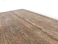 Early 20th Century Antique Oak Coffee Table (5 of 12)