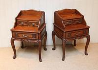 Pair of French Solid Oak Bedside Cabinets (5 of 8)