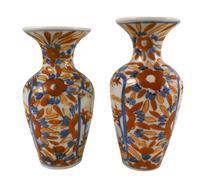 Japanese Kutani Vases (2 of 4)