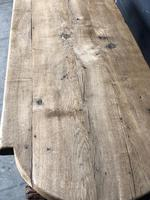 19th Century Rustic Oak Farmhouse Dining Table (3 of 23)