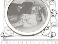Sterling Silver Photograph Frame - Antique Edwardian 1905 (9 of 9)