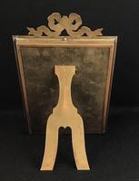 Late Victorian Gilt Brass Easel Photo Frame (5 of 5)