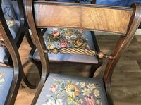Set of Four Regency Style Dining Chairs by Gill & Reigate (11 of 12)