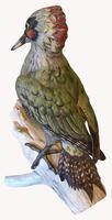 A Porcelain Green Woodpecker by Goebel of Germany (6 of 6)