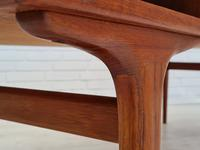 Danish Sofa Table, Teak Wood, Original Very Good Condition 1960s (6 of 16)