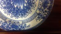 English Delftware 18th Century Pottery Plate in the Chinese taste (7 of 10)