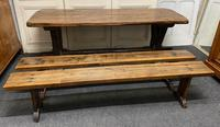 Rustic Oak Farmhouse Table & Bench Set (26 of 29)
