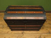 Antique Dome Top Pirates Trunk Storage Chest (4 of 12)