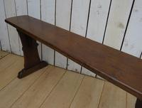 Pair of Antique Oak Benches (6 of 7)
