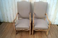 Re-Upholstered Carver Chairs (8 of 8)