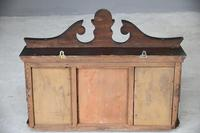 Victorian Inlaid Rosewood Overmantle Mirror Shelf (12 of 12)