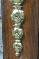 Quality Victorian William Tonks Large Brass Dinner Gong with Oak Back Board c.1900 (8 of 11)