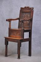 17th Century Yorkshire Child's High Chair (5 of 9)