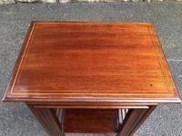 Edwardian  Inlaid Mahogany Nest 4 Tables (2 of 12)