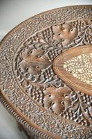 Carved Indian Side Table (5 of 12)
