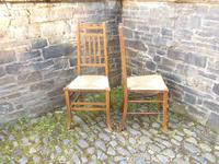 Pair of Arts & Crafts Scottish Chairs by E.A.Taylor (7 of 10)