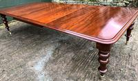 Very Large Victorian Mahogany Extending Dining Table (2 of 16)