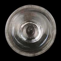 18th Century Folded Foot George II Wine Glass (6 of 7)